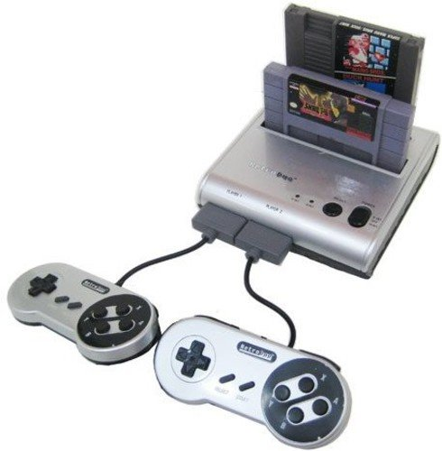 Retro-Bit Retro Duo Twin Video Game System, Silver/Black by Retro-Bit (Image #7)