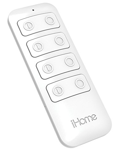 iHome iSPR4WC Remote Control for iSP8 Smart Plugs - works from 35 feet away -  SDI Technologies INC, AMAZ24250