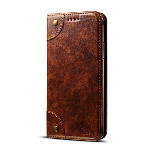 Light Brown iPhone XR Light Brown iPhone XR iPhone XR 6.1  Case, YiMiky PU Leather Phone Case Slim Fit Retro Vintage Stand Predective Smart Wallet Case with Card Slots & ID Holder Lightweight Full Body Predector for iPhone XR 6.1 Inch Light Brown