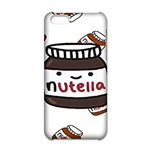 JiHuaiGu (TM) iPhone 6 6S Plus 5.5 Inch funda Nutella personalizado temático iPhone 6 6S Plus 5.5 Inch funda OJ7401