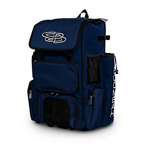 Boombah Rolling Superpack Baseball / Softball Gear Bag - 23-1/2