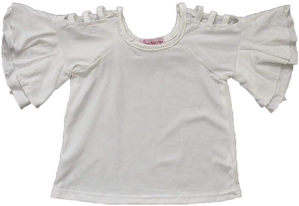 White Peekaboo Shoulder Top