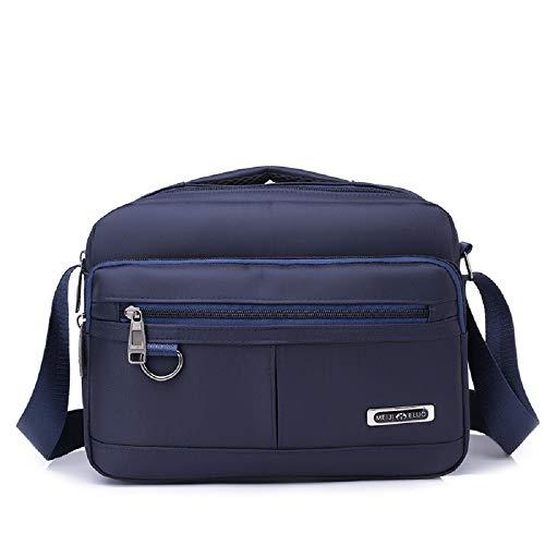 Bandolera Color Bolso Azul Sirve como para Wild Hombre Bolsa para Bandolera Bolsa Hombre también cinturón para Pure ZHRUI pequeño Bandolera Negra Bolsa xqt5II