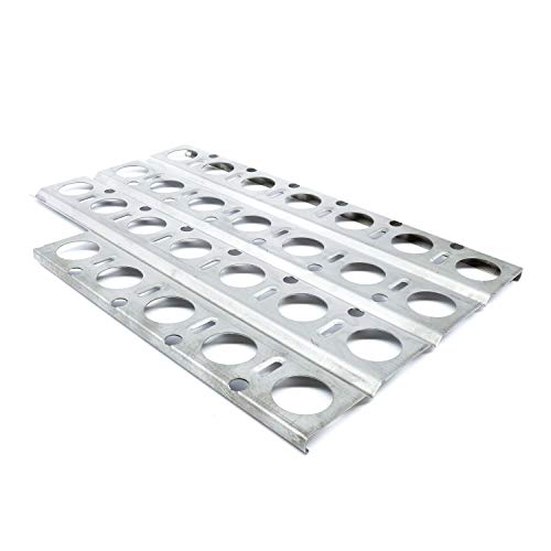 Music City Metals 92561 Stainless Steel Heat Plate Replacement for Gas Grill Model Dynasty DBQ30F (Dynasty Grill)