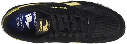 Reebok Royal Ultra SL, Sneaker Basses Femme Noir (Black/Gold Met/White)