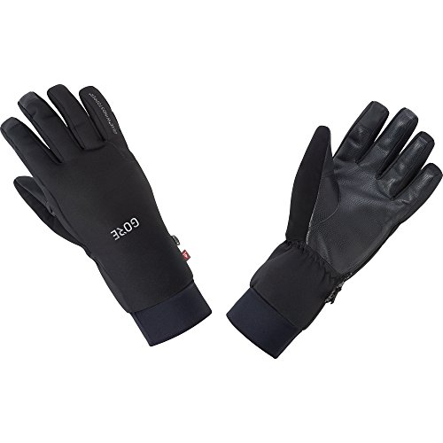 (GORE WEAR Windproof Gloves, M Windstopper Insulated Gloves, Size: XL, Color: Black, 100386)