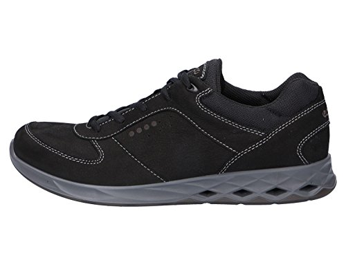 ECCO Wayfly, Zapatillas de Deporte para Exterior para Hombre Negro (Black/black)