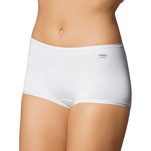 Speidel Mujer Pants 5Pack–Soft Feeling 9603algodón + Elastano, color blanco/negro/Skin, talla 38–�?6 Weiß
