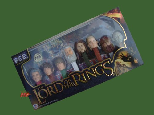 Lord Of The Rings PEZ Collectors Series Limited Ed. 8pc Boxed Set NEW!!!