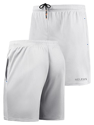 1f4f83534f3 Neleus Men's Lightweight Workout Running Athletic Shorts with Pockets