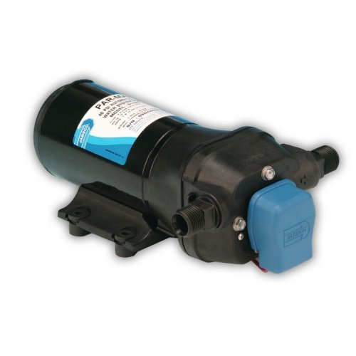 Jabsco 31620-0092 Marine Parmax 4 High Pressure Water System Pump (4.3-Gpm, 40-Psi, 12-Volt, 15-Amp, Up to 5 Outlets) by Jabsco