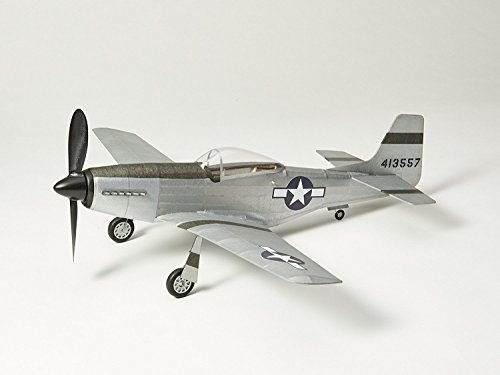 Vintage Model Co. P51D-MUSTANG Flying Scale Model: Balsa Wood Plane Kit
