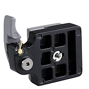 Camera 323 Quick Release Clamp Adapter Plus Quick Release Plate Compatible for Manfrotto 200PL-18 Compat Plate