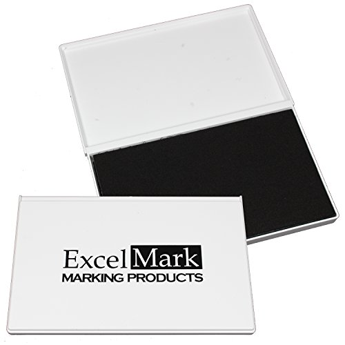 ExcelMark Rubber Stamp Ink Pad Extra Large 4-1/4
