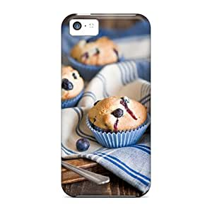 Excellent Design Blueberry Muffins Phone Case For Iphone 5c Premium Tpu Case by Maris's Diary