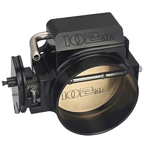 102mm Black Throttle Body GM Gen III Ls1 Ls2 Ls3 Ls6 Ls7 Sx Ls 4 CNC Bolt Cable
