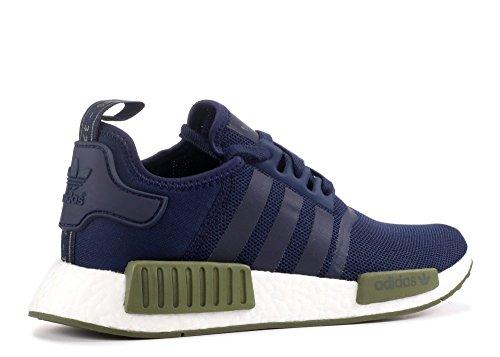 Adidas Originals Mænds Nmd_r1 Sneaker Kollegialt Flåde / Oliven Fragt / Hvid okvhg