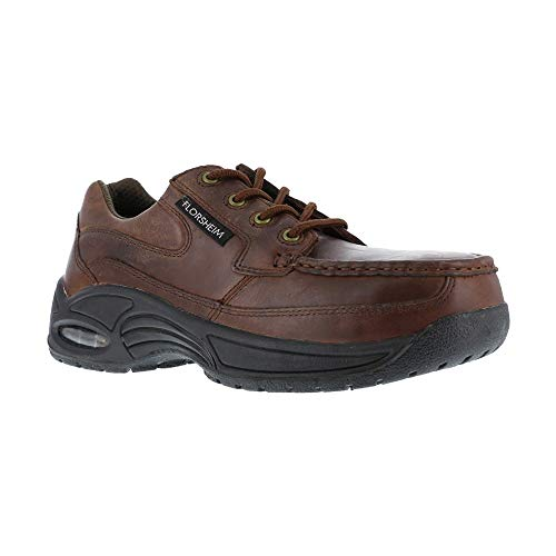 FS2430 Florsheim Men's Supreme Eurocasual Safety Shoes - Copper - 5.0\3E