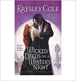 wicked deeds on a winter s night cole kresley