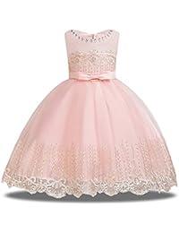 Girls Pageant Flower Girl Dress Sleeveless Wedding Party Dresses