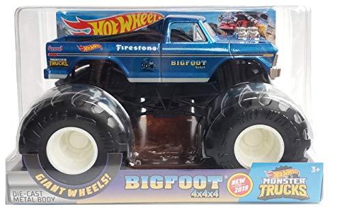 HOT Wheels Bigfoot 4X4 Monster Trucks 1:24 Scale