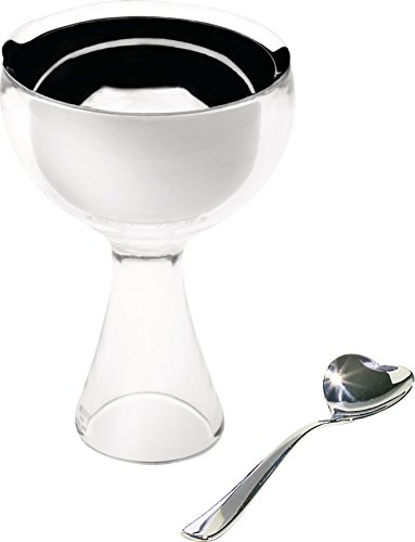 """Alessi""""Big love"""" Bowl with Spoon, Ice"""