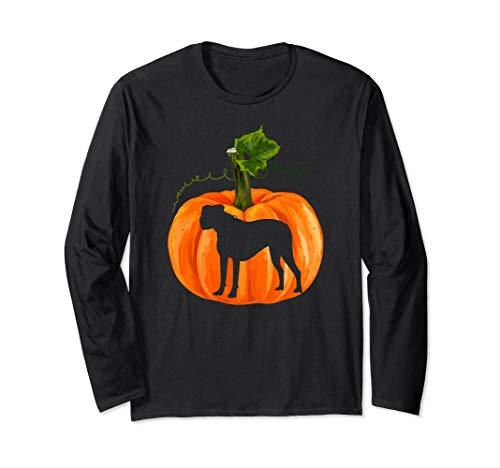 Happy Halloween Boxer Dog T-Shirt Gifts Dog Christmas Gifts Long Sleeve T-Shirt]()