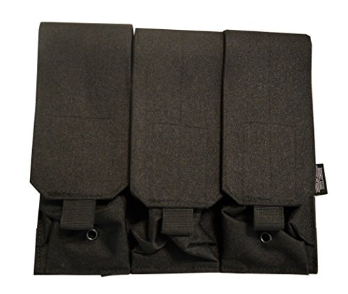 American Tactical Supply Co. Tactical Double Magazine Pouch, 6 Magazine Capacity (Triple (System M4 Double Mag Pouch)