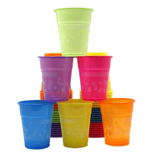 Luau Disposable Cups : package of 50