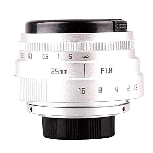 16mm C Mount Movie Lens to Sonny E-Mount NEX Camera Lens Adapter Mini 25mm F1.8 APS-C Television CCTV Lens