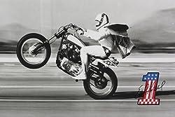 (24x36) Evel Knievel- Wheelie Poster