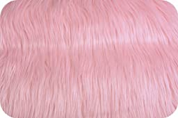 Pink Mongolian Faux Fur Extra Large Size 36\