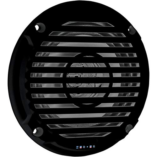 Jensen Model MS5006B Dual Cone Marine Grade Waterproof Black 5.25