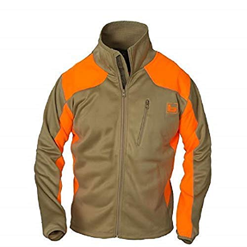 Banded Men's Upland Soft Shell Full Zip Jacket Large