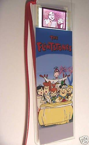 FLINTSTONES TOS movie film cell bookmark memorabilia collectible