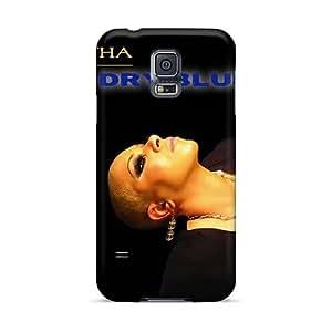PhilHolmes Samsung Galaxy S5 Shock Absorption Hard Phone Cover Customized Stylish Breaking Benjamin Pattern [vLx4283Vada]