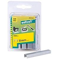 Wolfcraft 7017000 3000 Klammern breit, Stahl Typ 53 8 mm