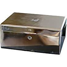 Daniel Marshall 18kt Gold Plated Solid Sterling Silver Humidor