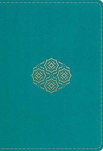 Bible Bouquet - Holy Bible: English Standard Version, TruTone Teal, Bouquet