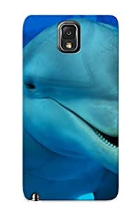 High Quality Trinalgrate Cute Dolphin Skin Case Cover Specially Designed For Galaxy - Note 3