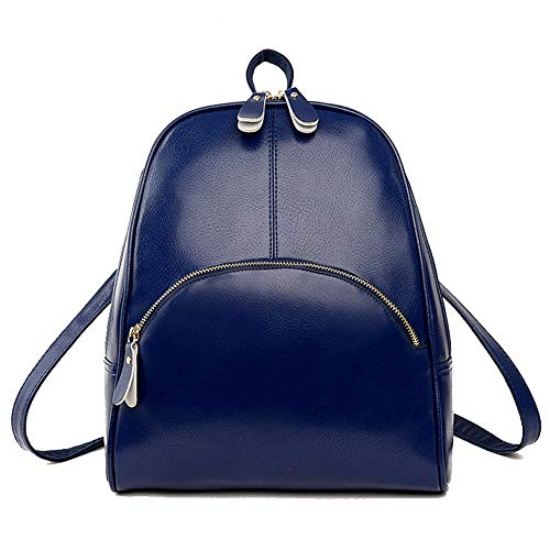 TSDBG220448 AalarDom Black Blue Casual Zippers Dacron Women's Shoulder Bags Pu 0C0nwvOq