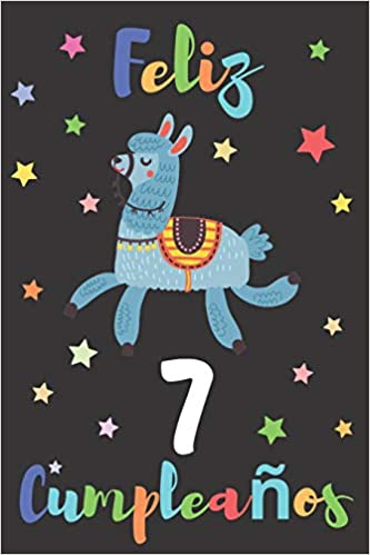 Feliz 7 Cumpleaños: Regalo para Niños o Niñas de 7 Años ...