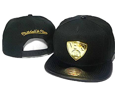 Última Modelos de hip hop Mr/MS Nets metal logo gorra Snapback ...