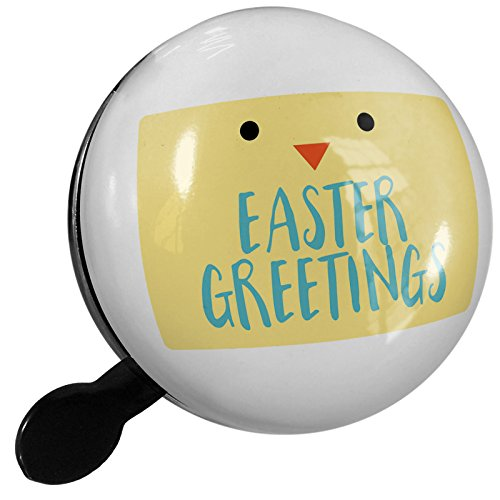 Easter Greetings Chick (Small Bike Bell Easter Greetings Easter Chick Face - NEONBLOND)