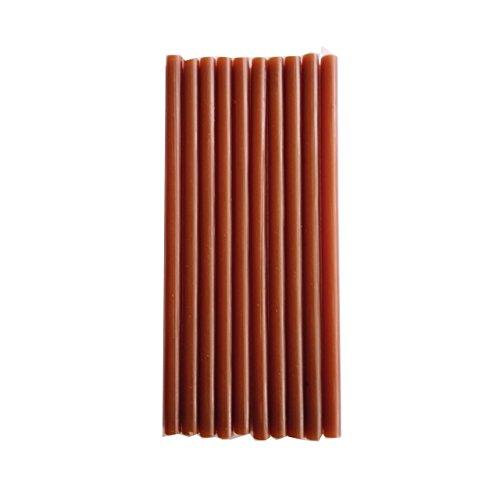 Heirloom Quality Industrial Strength Super Strong Glue Gun Sticks Dark Brown - Standard Pack of 10 by Heirloom Quality