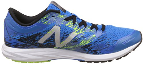 Nuovo Equilibrio Mens Strobe Running Shoe Blu Elettrico / Nero / Vivido Giada