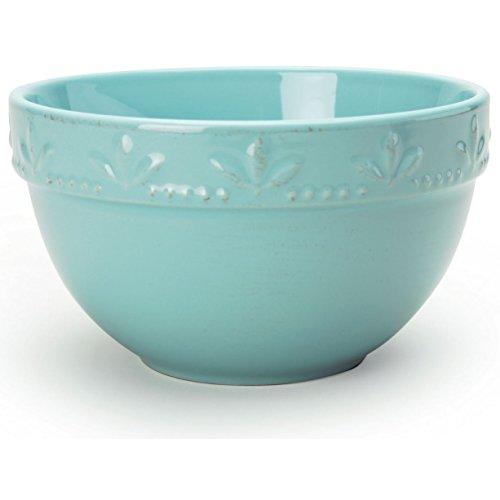 (Signature Housewares Sorrento Utility/Serving Bowl (30oz) - Aqua)