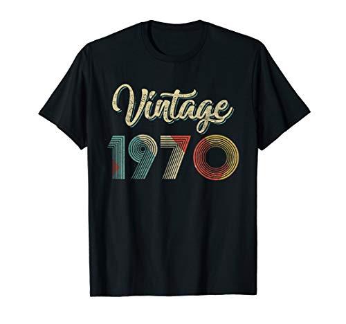 Vintage Retro 1970 49th years old Classic Birthday T-Shirt -