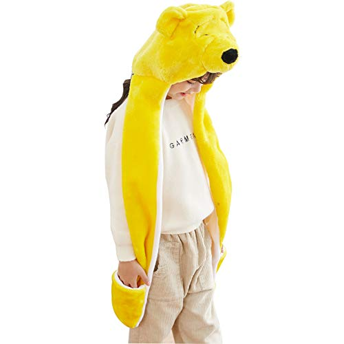 Winnie The Pooh Hat - PULAMA Novelty Animal HAT Cosplay Cap