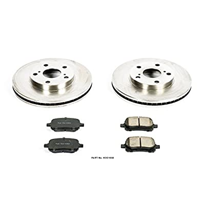 Autospecialty KOE1058 1-Click OE Replacement Brake Kit: Automotive